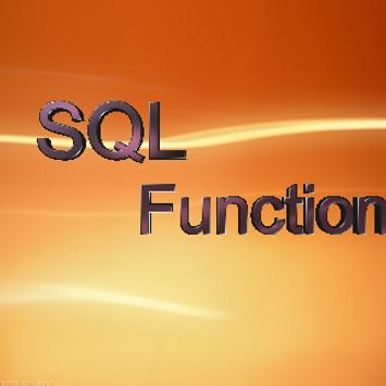 Sql Functions poster