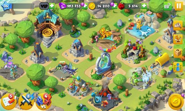 Cheat Dragon Mania Legends apk screenshot