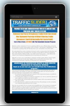 TrafficSlider - Your Profit Up poster