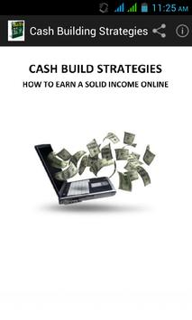 Cash Building Strategies poster