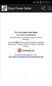 Ebay Power Seller apk screenshot
