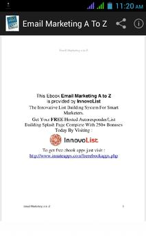 Email Marketing A to Z poster