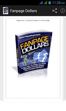 FanPage Dollars poster