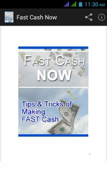 Fast Cash Now poster