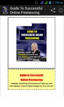 Guide to Online Freelancing. poster