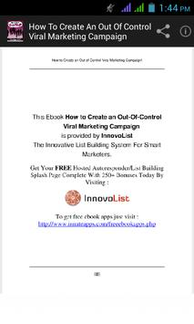 Viral Marketing Campaign poster