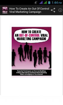 Viral Marketing Campaign apk screenshot