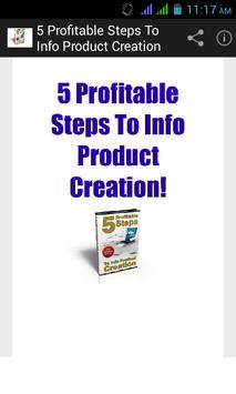 Creation of Profitable Product poster