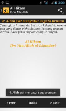 Kitab Al Hikam-Ibnu Athoillah apk screenshot