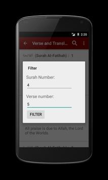 Al Quran by Word Translation apk screenshot