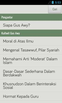 Kultwit Gus Awy apk screenshot