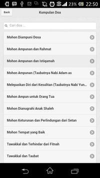 Doa-Doa di Al-Qur'an / Hadits apk screenshot