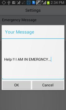 SOS Location Messenger HELP apk screenshot
