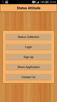 Status Attitude apk screenshot