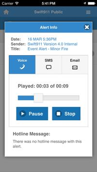 Swift911 Public apk screenshot