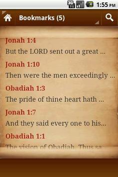 Holy Bible Verses apk screenshot