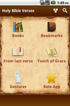 Holy Bible Verses poster
