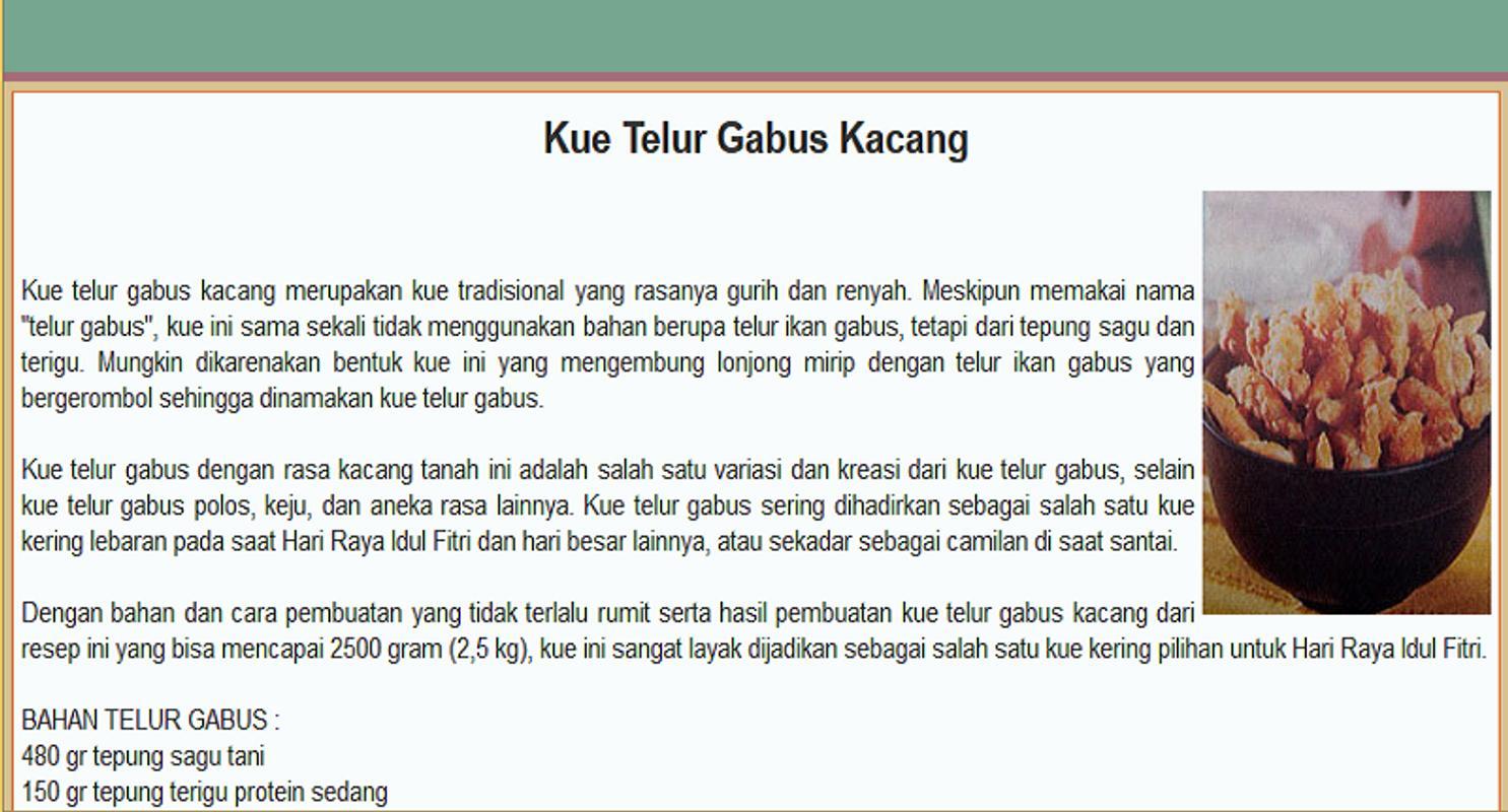 Image Result For Resep Kue Nusantara Com