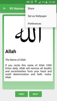 99 Names of Allah apk screenshot