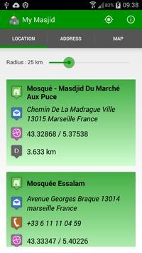My Masjid Finder poster