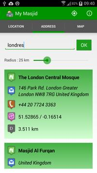 My Masjid Finder apk screenshot