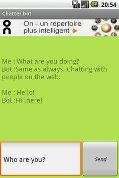 Chatter Bot poster