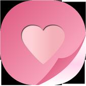 채팅의목적-랜덤채팅,채팅,친구만들기 icon