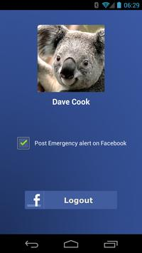 SahAya - Emergency Alert apk screenshot