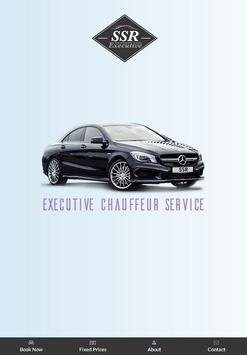SSR Executive chauffeurs poster