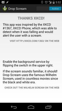 Drop Scream poster