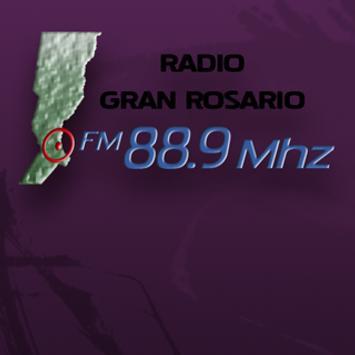 Radio Gran Rosario 88.9 Mhz poster