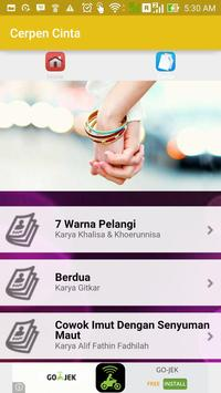 Cerpen Cinta Romantis Terbaru apk screenshot