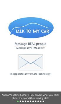 Talk To My Car (TTMC) poster