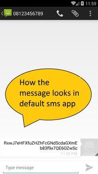 SMS Rahasia apk screenshot