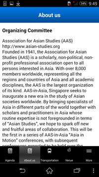 2015 AAS-in-ASIA conference apk screenshot