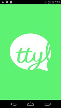 TTYL Messenger poster
