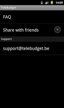 TeleBudget apk screenshot