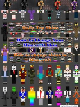 Top Skin Minecraft Pe All Vers apk screenshot
