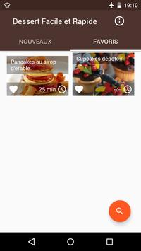 Recette Dessert Facile apk screenshot
