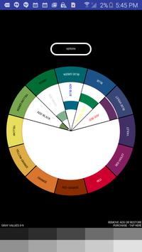 Painter's Color Wheel poster