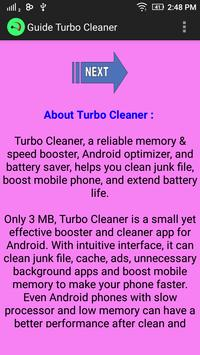 Guide Turbo Cleaner poster