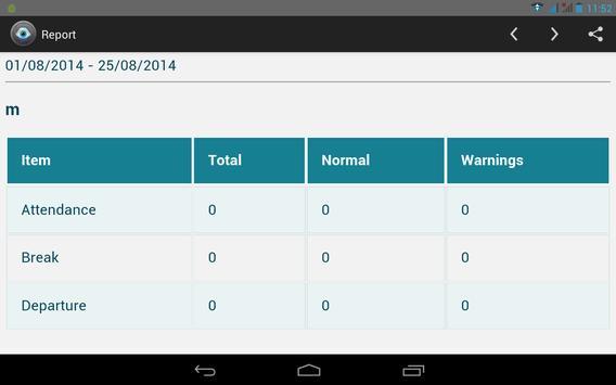 Face Attendance System apk screenshot