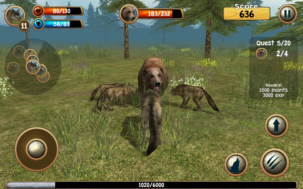 Wild Wolf Simulator