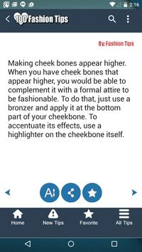 100 Fashion Tips apk screenshot
