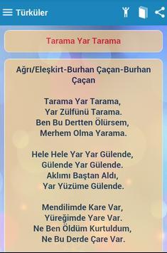 Türküler apk screenshot