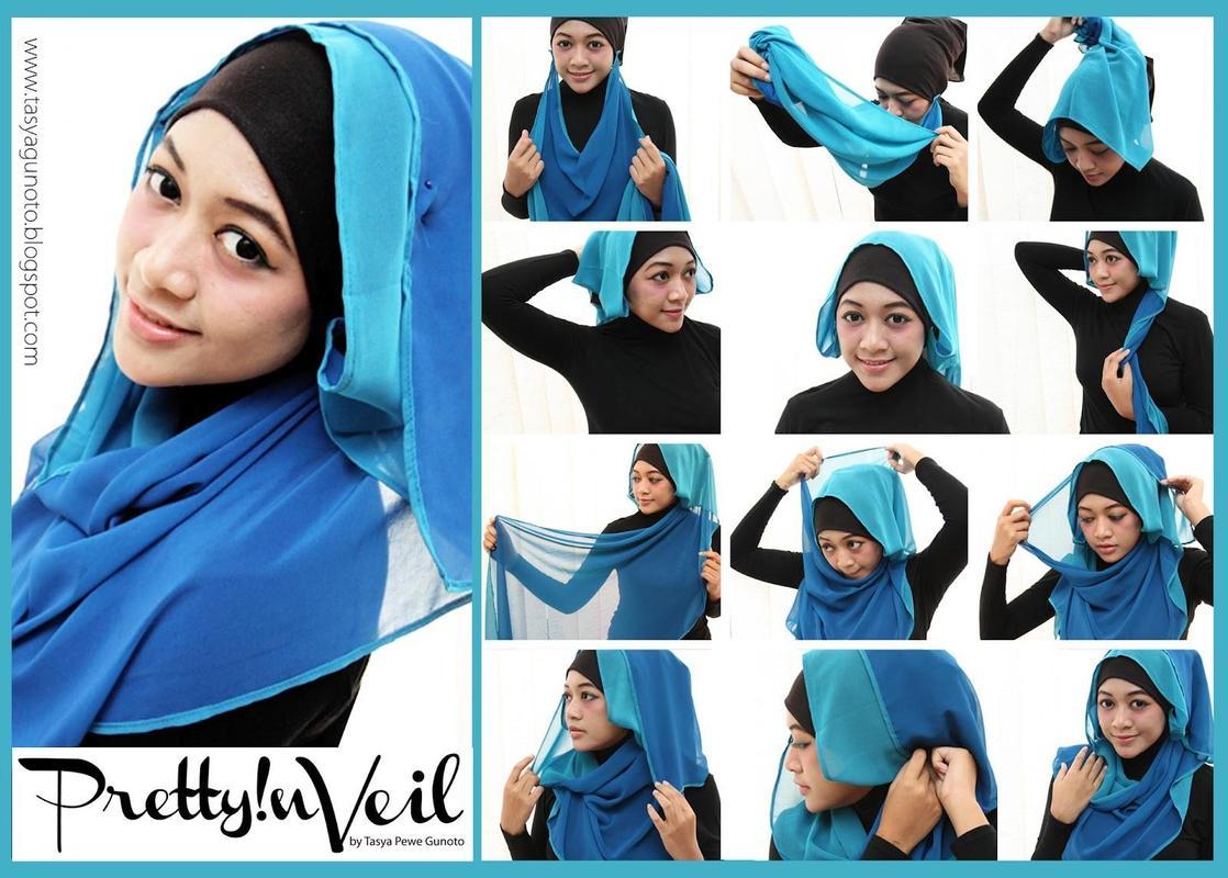 Tutorial Hijab Segi Empat Untuk Remaja