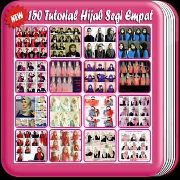 150 Tutorial Hijab Segi Empat apk screenshot