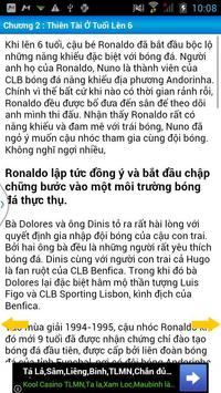 Cristiano Ronaldo Tự truyện apk screenshot