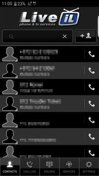 LiveIL SoftPhone apk screenshot