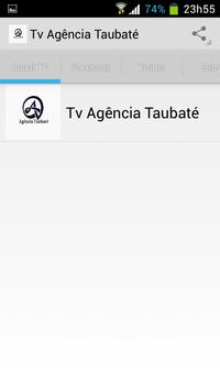 Tv Agência Taubaté apk screenshot